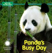 Cover of: Panda's Busy Day (Let's Go To The Zoo!)