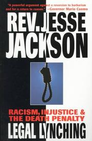 Cover of: Legal Lynching