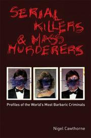 Cover of: Serial Killers and Mass Murderers