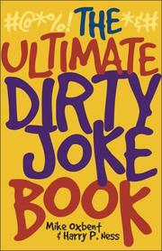 Cover of: The Ultimate Dirty Joke Book