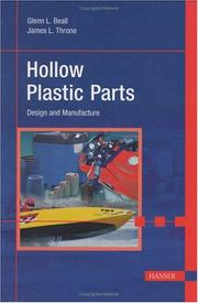 Cover of: Hollow Plastic Parts