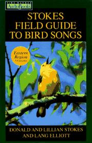 Cover of: Stokes Field Guide to Bird Songs