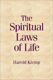Cover of: Spiritual Laws of Life