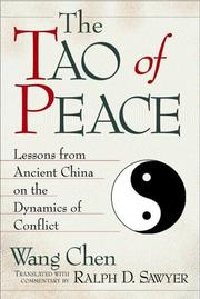 Cover of: The Tao of Peace
