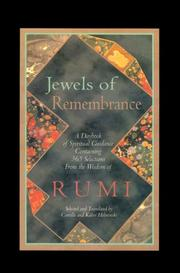 Cover of: Jewels of Remembrance