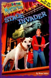 Cover of: Stage Invader (Wishbone Mysteries (Paperback))