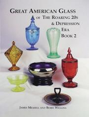 Cover of: Great American Glass of the Roaring 20s and Depression Era, Book 2