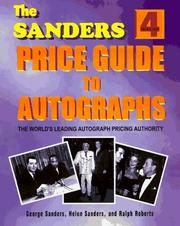 Cover of: The Sanders Price Guide to Autographs