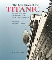 Cover of: The Last Days of the Titanic