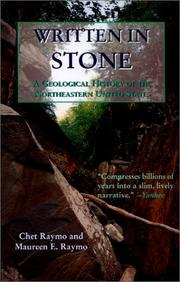Cover of: Written in stone: a geological history of the northeastern United States