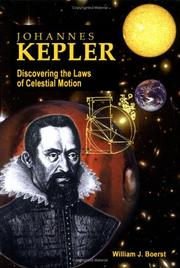 Cover of: Johannes Kepler