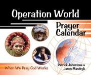 Cover of: Operation World Prayer Calendar