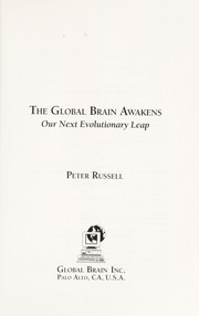 Cover of: The global brain awakens