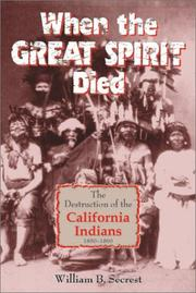 Cover of: When the Great Spirit Died