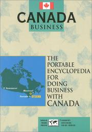 Cover of: Canada Business