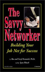 Cover of: The Savvy Networker