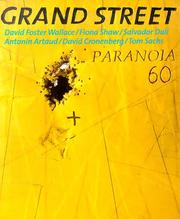Cover of: Grand Street 60: Paranoia (Spring 1997)