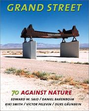 Cover of: Grand Street #70: Against Nature