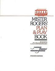 Cover of: Mister Rogers' Plan & Play Book