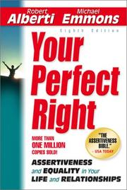 Cover of: Your Perfect Right