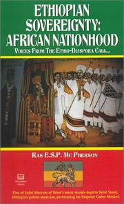 Cover of: Ethiopian Sovereignty: African Nationhood