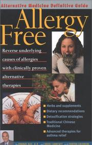 Cover of: Allergy Free
