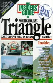 Cover of: The Insiders' Guide to the Triangle