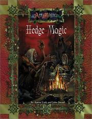 Cover of: Hedge Magic (Ars Magica) (Ars Magica Series)