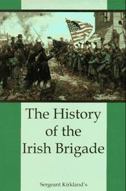 Cover of: The History of the Irish Brigade