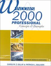 Cover of: Windows 2000 Professional