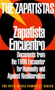 Cover of: Zapatista Encuentro