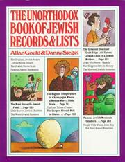 Cover of: The Unorthodox Book of Jewish Records & Lists