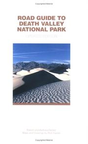 Cover of: Road Guide to Death Valley National Park, Updated Edition
