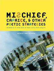 Cover of: Mischief, Caprice, and Other Poetic Strategies
