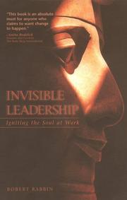 Cover of: Invisible Leadership