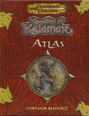 Cover of: Kingdoms of Kalamar Atlas (Dungeons & Dragons)