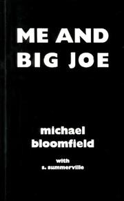 Cover of: Me and Big Joe