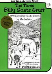 Cover of: Los Tres Chivitos Gruff/the Three Billy Goats Gruff: A Bilingual Folktale Play for Children