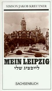 Cover of: Mein Leipzig