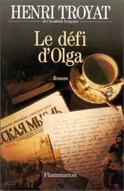 Cover of: Le défi d'Olga