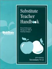 Cover of: Substitute Teacher Handbook 9-12, Fifth Edition