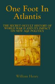 Cover of: One Foot in Atlantis (Millennium Science)