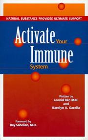 Cover of: Activate Your Immune System