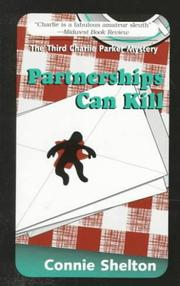 Cover of: Partnerships Can Kill (The Charlie Parker Mystery Series)