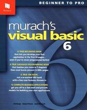 Cover of: Murach's Visual Basic 6