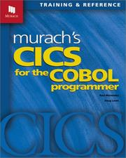 Cover of: Murach's CICS for the COBOL Programmer