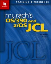 Cover of: Murach's OS/390 and z/OS JCL