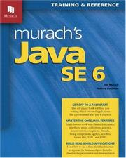 Cover of: Murach's Java SE 6