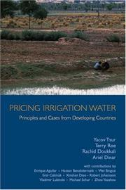 Cover of: Pricing Irrigation Water