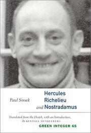 Cover of: Hercules, Richelieu and Nostradamus (Green Integer Books)